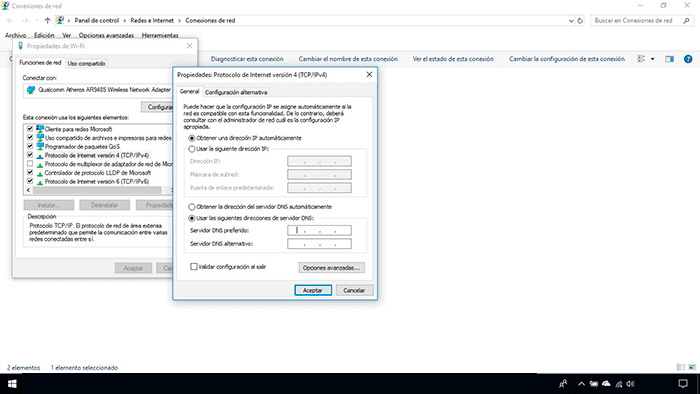 Activar IPv4 en Windows