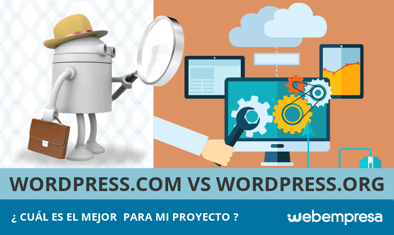 WordPress.com y WordPress.org, ¿qué diferencias hay?