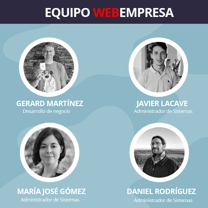 Equipo Webempresa en el PRO Marketing Day 2019