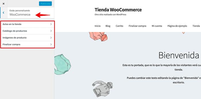 Personalizador de WooCommerce