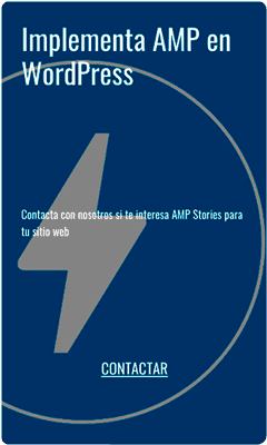 AMP Stories Bookend
