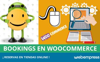 Bookings o reservas en tiendas online WooCommerce