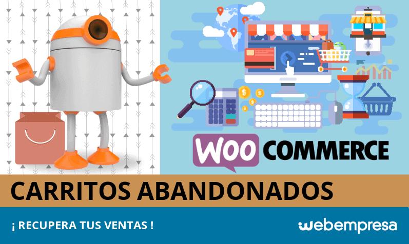 Carritos abandonados en WooCommerce: ¡X formas de recuperar tus ventas!