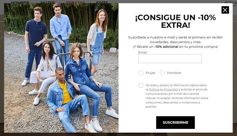 Errores en tiendas online WooCommerce: pop ups