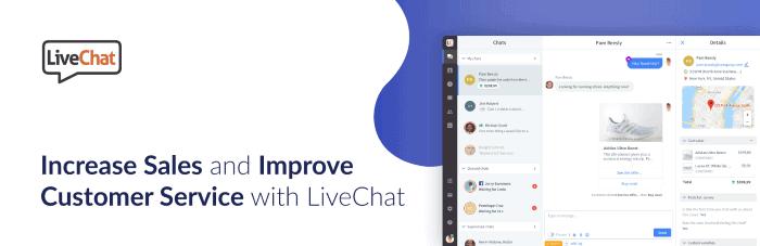 Integra un chat en tu tienda online WooCommerce: LiveChat