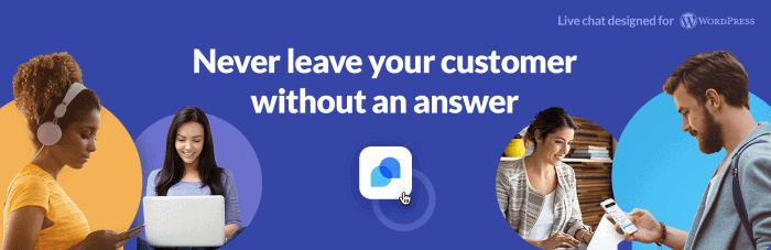 Integra un chat en tu tienda online WooCommerce: Tidio