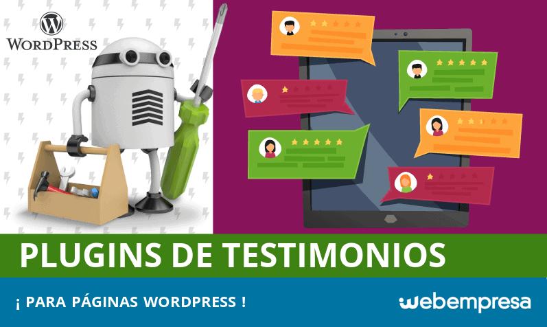 Los mejores plugins de testimonios para WordPress