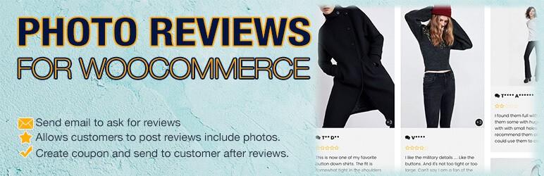 Cómo preparar una tienda WooCommerce para vacaciones: Photo Reviews for WooCommerce
