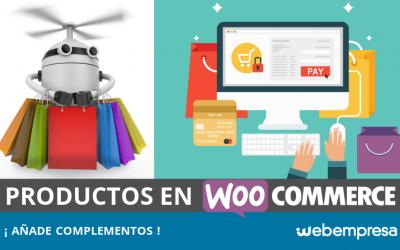 Complementos de productos de WooCommerce, ¿cómo añadirlos?