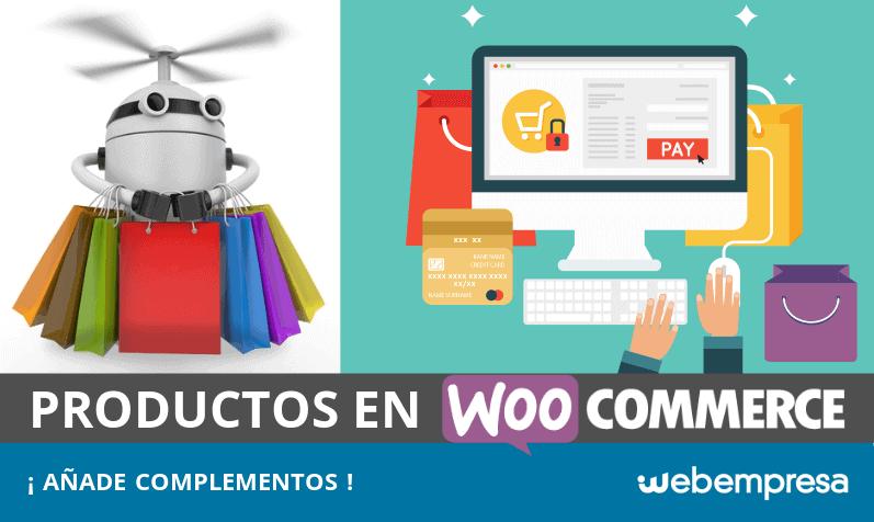Complementos en productos de WooCommerce, ¿cómo añadirlos?