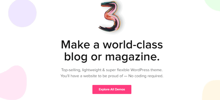 Temas WordPress preparados para AMP: Publisher