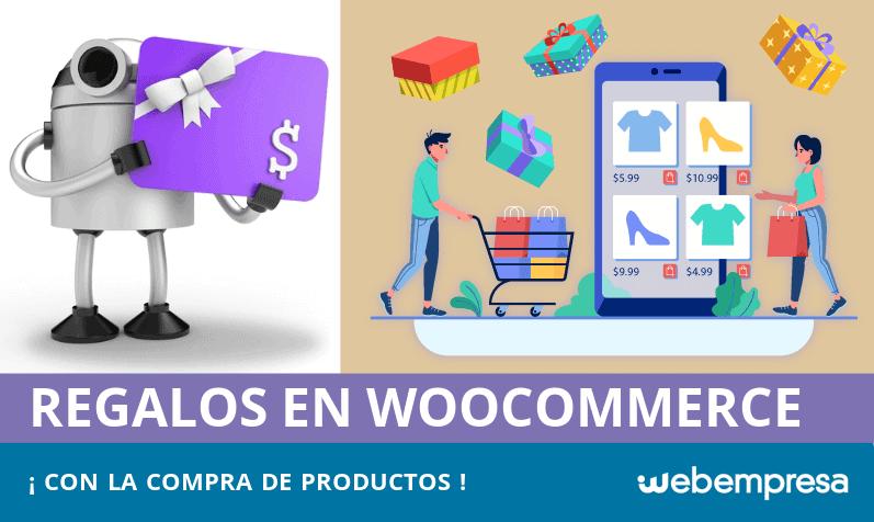 Regalos con la compra de productos en WooCommerce