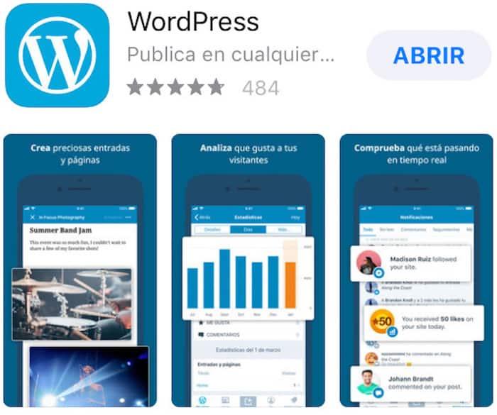 ¿Cómo administrar WordPress desde tu móvil?: WordPress instalado en Android