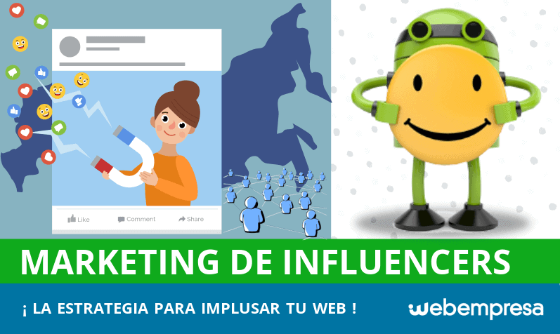 Marketing de Influencers: la estrategia perfecta para impulsar tu web