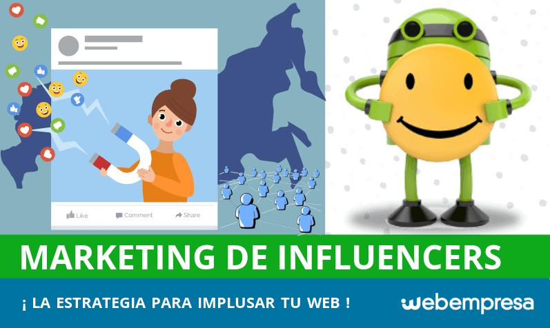 Marketing de Influencers: ¡impulsa tu web!