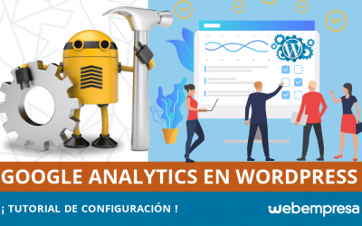 Tutorial de configuración de Google Analytics en WordPress
