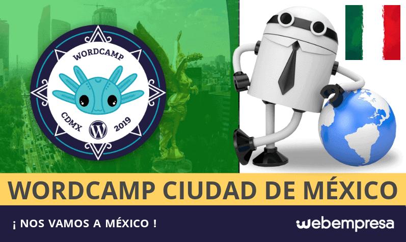 Webempresa en la WordCamp de Ciudad de México