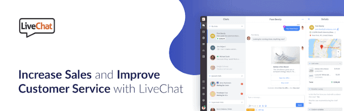 Plugins de Live Chat para WordPress: LiveChat