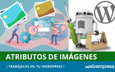 Atributos de imágenes en WordPress y SEO