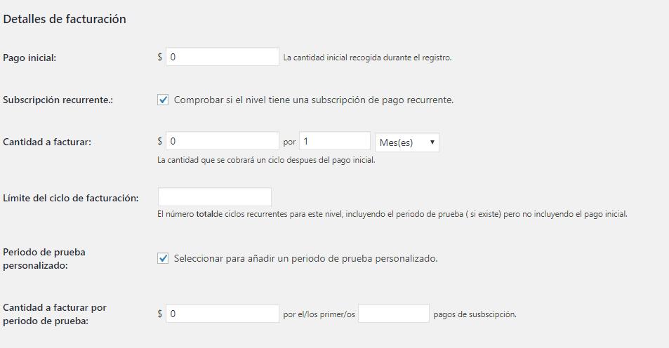 Cómo construir un sitio de membresía en WordPress: configuraciones de pago
