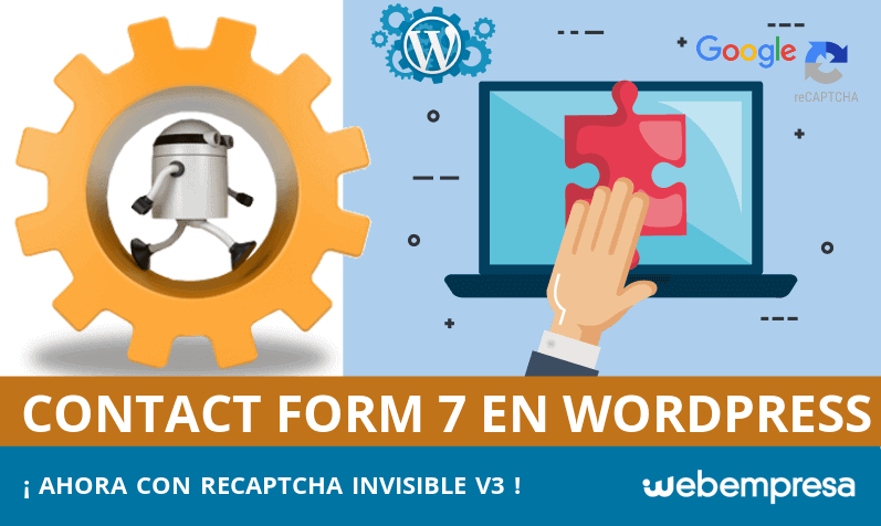 Captcha invisible en Contact Form 7 para WordPress