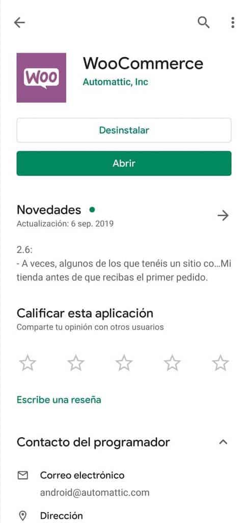 Cómo administrar WooCommerce desde tu móvil: instalación en Android