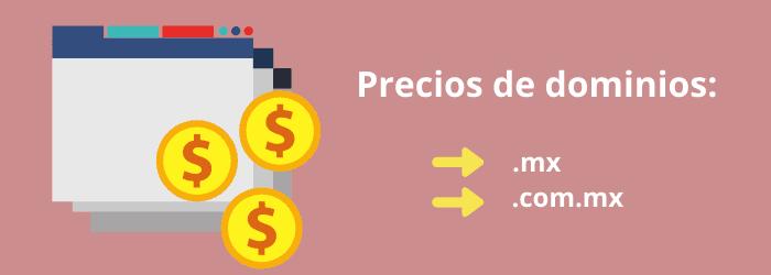 ¿Cuánto cuesta un dominio en México?: precios