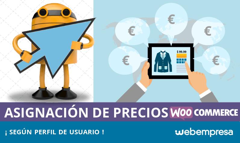 Asignación de precios en WooCommerce según perfil de usuario