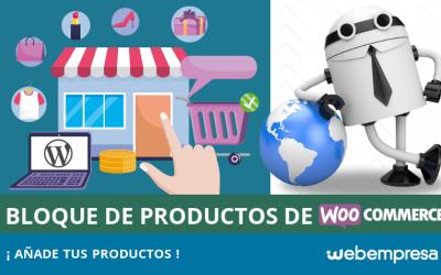 Bloque de Productos de WooCommerce