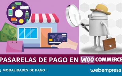 Pasarelas de pago para WooCommerce