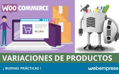 Variaciones de productos en WooCommerce: buenas prácticas