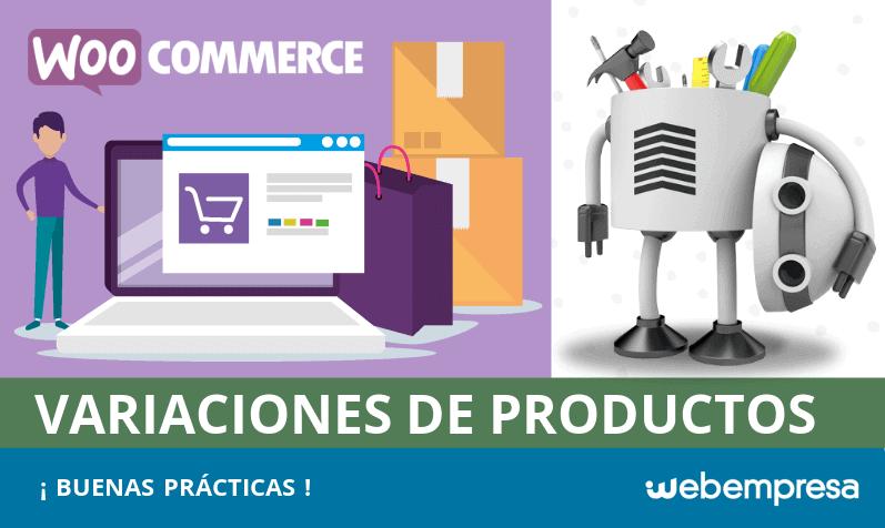 Buenas prácticas para mostrar variaciones de productos en WooCommerce