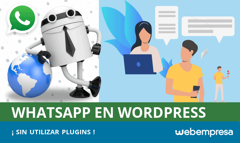 Agregar Whatsapp en WordPress sin usar plugins