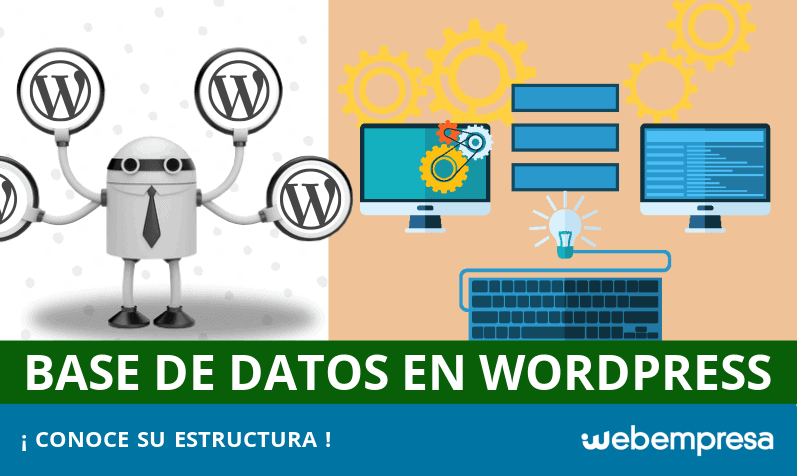 Estructura de Base de Datos en WordPress