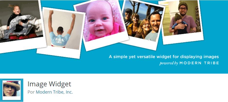 Mejores widgets gratuitos para WordPress: Image widget