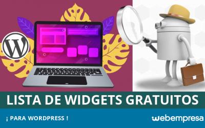 Los mejores widgets gratuitos para WordPress