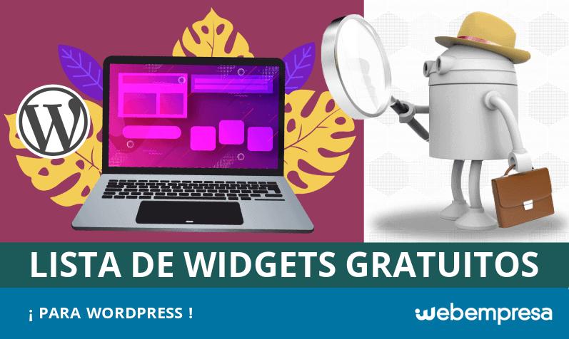 Mejores widgets gratuitos para WordPress