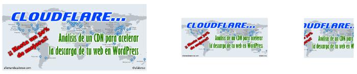 Ejemplo de cómo WordPress redimensiona o recorta una imagen para generar miniaturas