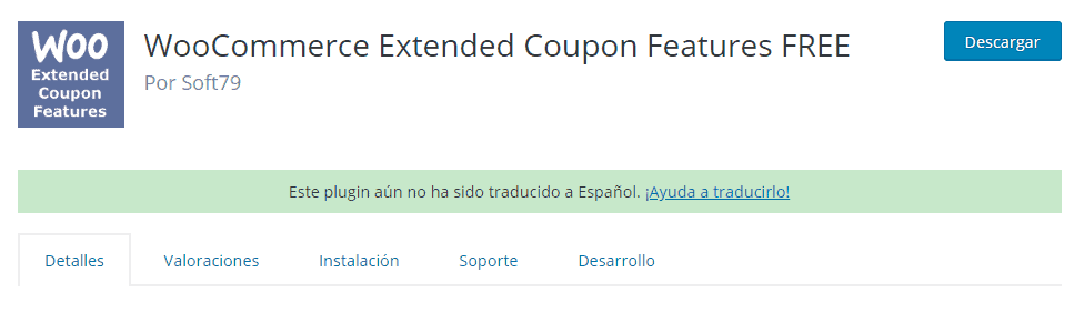 Plugin WooCommerce Extended Coupon Features Free