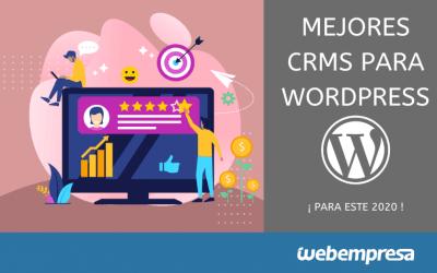 Mejores Plugins de CRM para WordPress en 2020