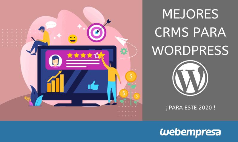 Mejores CRMs para WordPress en 2020