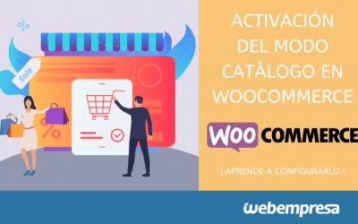 Activar modo catálogo en WooCommerce