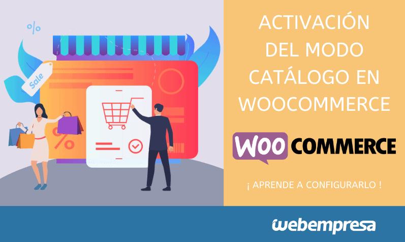 Activación del modo catálogo en WooCommerce