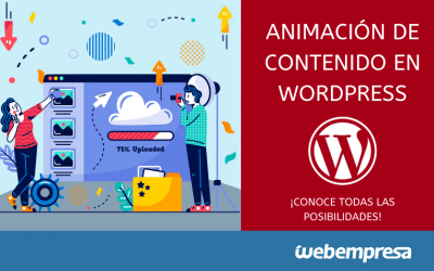 Añadir animaciones de contenido en WordPress (con y sin plugins)