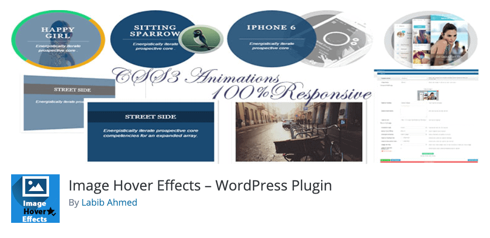 Plugin Image Hover Effects