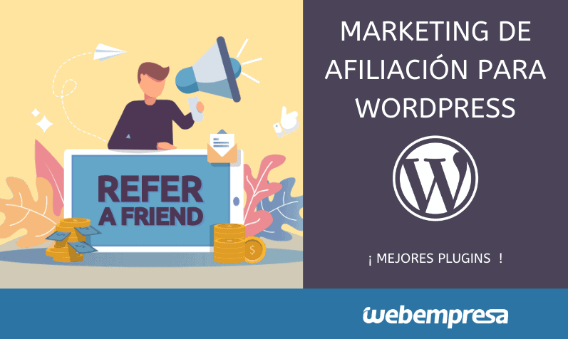 Marketing de afiliados para WordPress