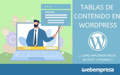 Crear índice o tablas de contenidos en posts de WordPress
