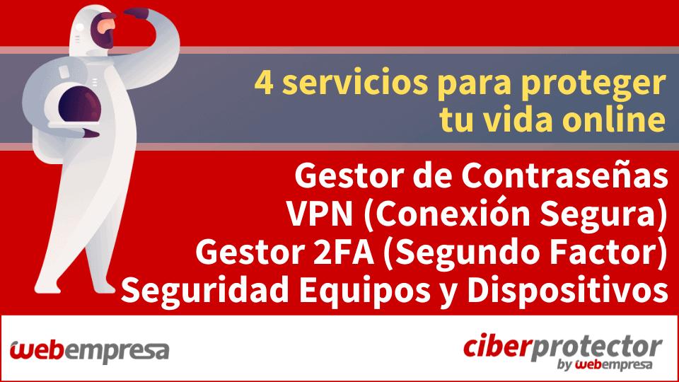 Gestor de Contraseñas - Red Privada Virtual (VPN) - 2FA