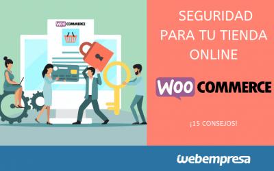 15 Consejos de seguridad para tiendas WooCommerce
