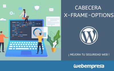 Cabecera X-Frame-Options, mejorar la seguridad Web